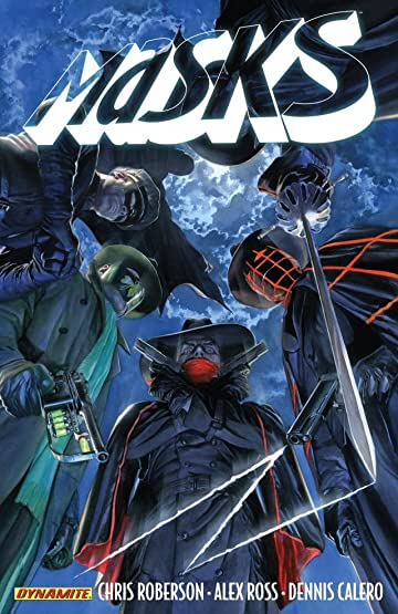 Masks: A team-up with The Spider, The Shadow and The Green Hornet