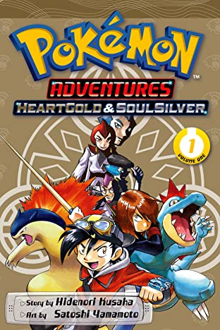 Pokémon Adventures: HeartGold and SoulSilver Tome 1
