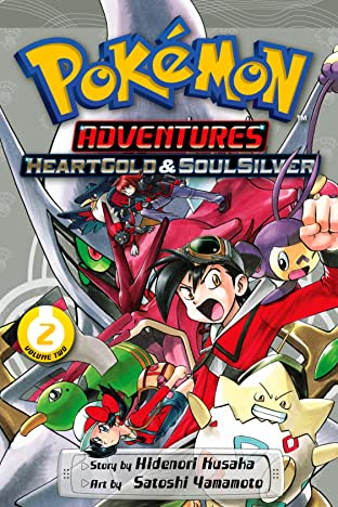 Pokémon Adventures: HeartGold and SoulSilver Tome 2