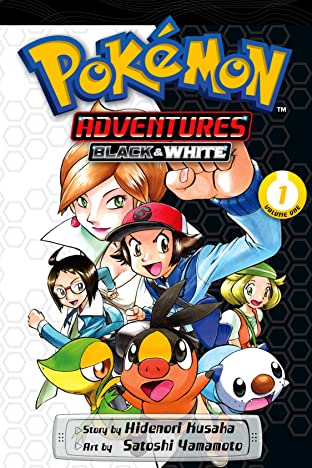 Pokémon Adventures: Black and White Tome 1