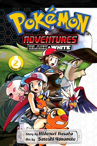 Pokémon Adventures: Black and White Tome 2