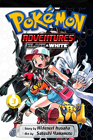 Pokémon Adventures: Black and White Tome 3
