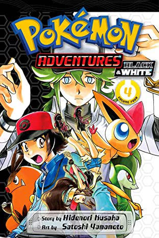 Pokémon Adventures: Black and White Tome 4