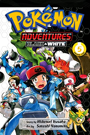 Pokémon Adventures: Black and White Tome 5