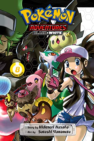 Pokémon Adventures: Black and White Tome 8