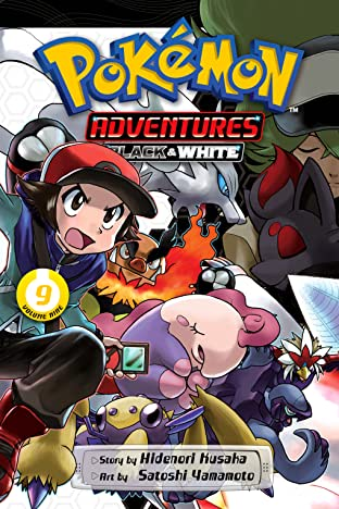 Pokémon Adventures: Black and White Tome 9
