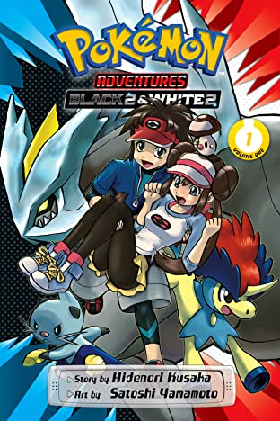 Pokémon Adventures: Black 2 & White 2 Tome 1