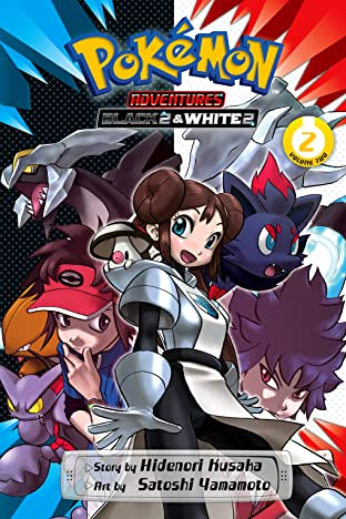 Pokémon Adventures: Black 2 & White 2 Tome 2