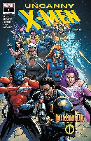 Uncanny X-Men (2018-) #1