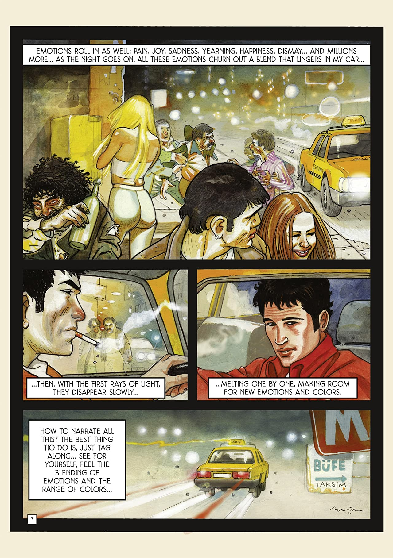 Taxi Tales Vol. 1: The Fragrant Lady