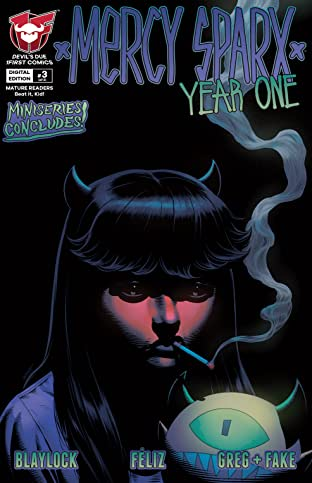Mercy Sparx: Year One #3