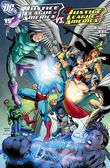 Justice League of America (2006-2011) #15
