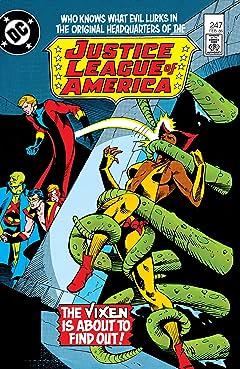 Justice League of America (1960-1987) #247