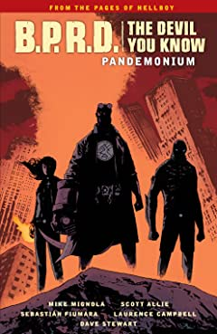B.P.R.D.: The Devil You Know Vol. 2: Pandemonium
