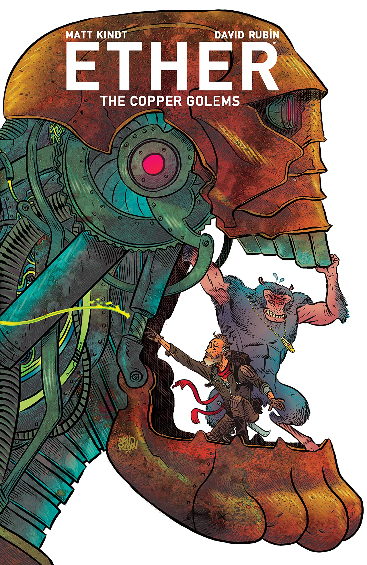 Ether Tome 2: Copper Golems