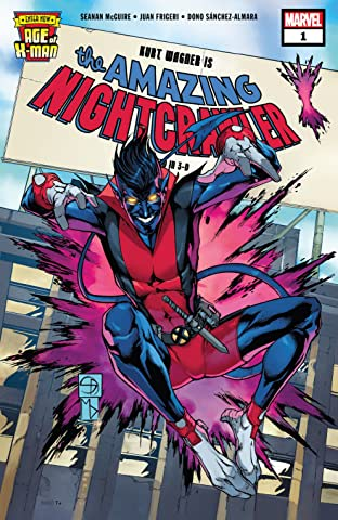Age Of X-Man: The Amazing Nightcrawler (2019) No.1 (sur 5)