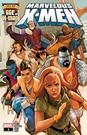 Age Of X-Man: The Marvelous X-Men (2019) No.1 (sur 5)