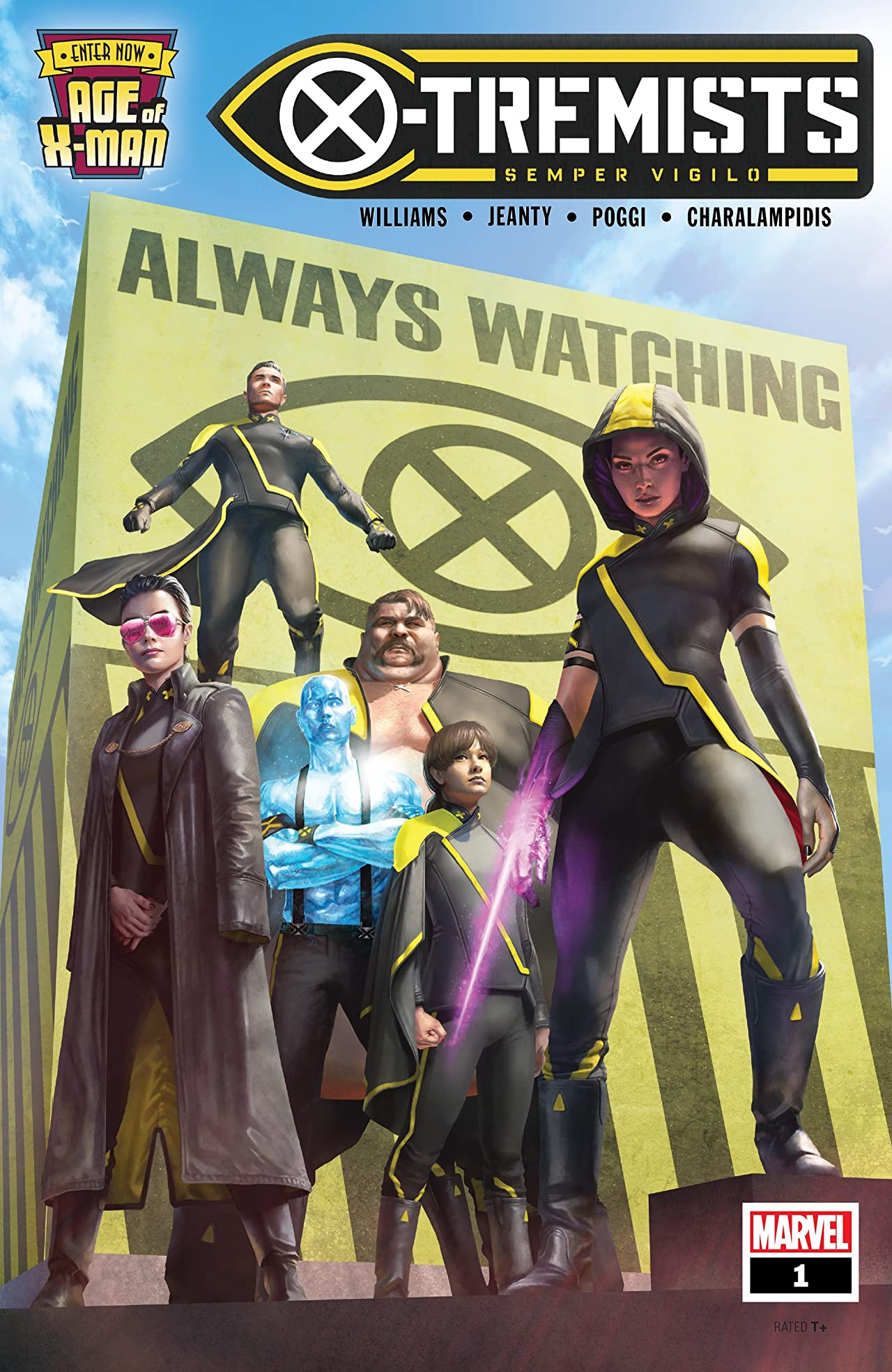 Age Of X-Man: X-Tremists (2019) No.1 (sur 5)