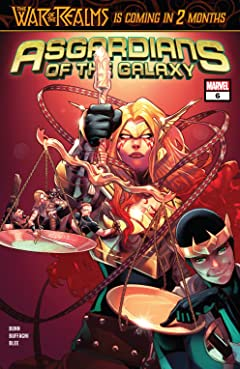 Asgardians of the Galaxy (2018-2019) No.6