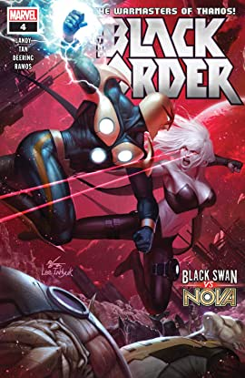 Black Order (2018-2019) No.4 (sur 5)