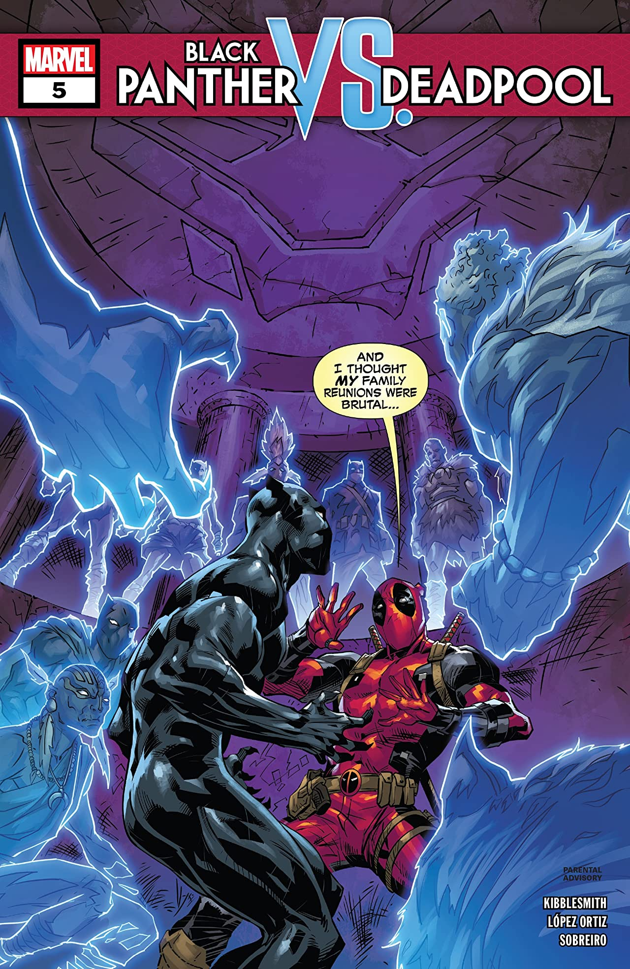 Black Panther vs. Deadpool (2018-2019) #5 (of 5)