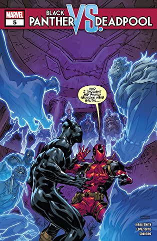 Black Panther vs. Deadpool (2018-2019) #5 (of 5)