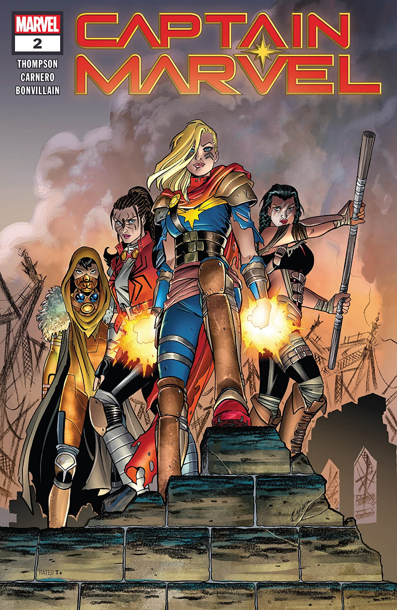 Captain Marvel (2019-) No.2