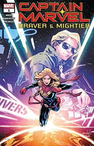 Captain Marvel: Braver & Mightier (2019) No.1