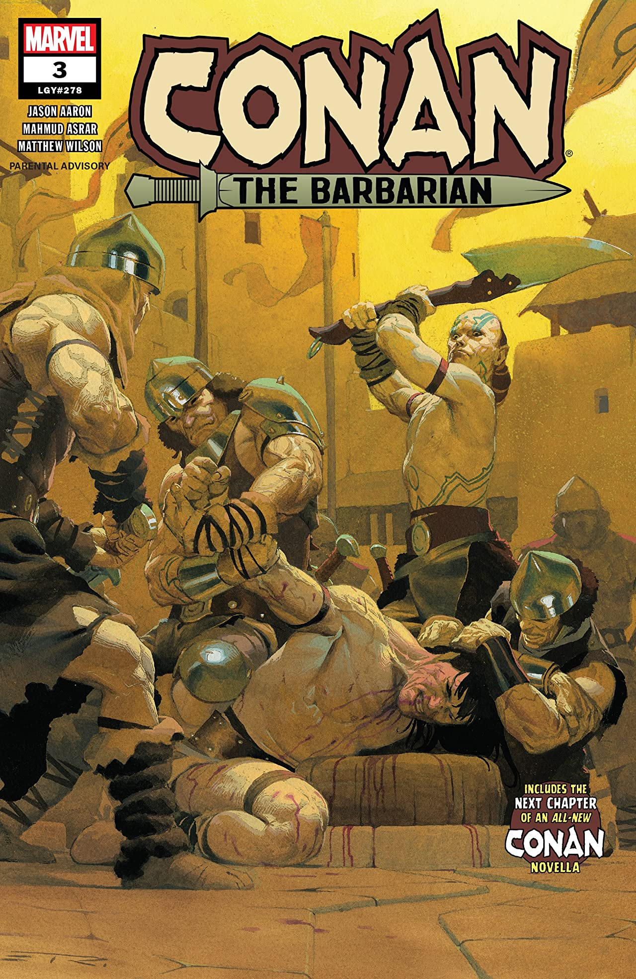 Conan The Barbarian (2019-) No.3