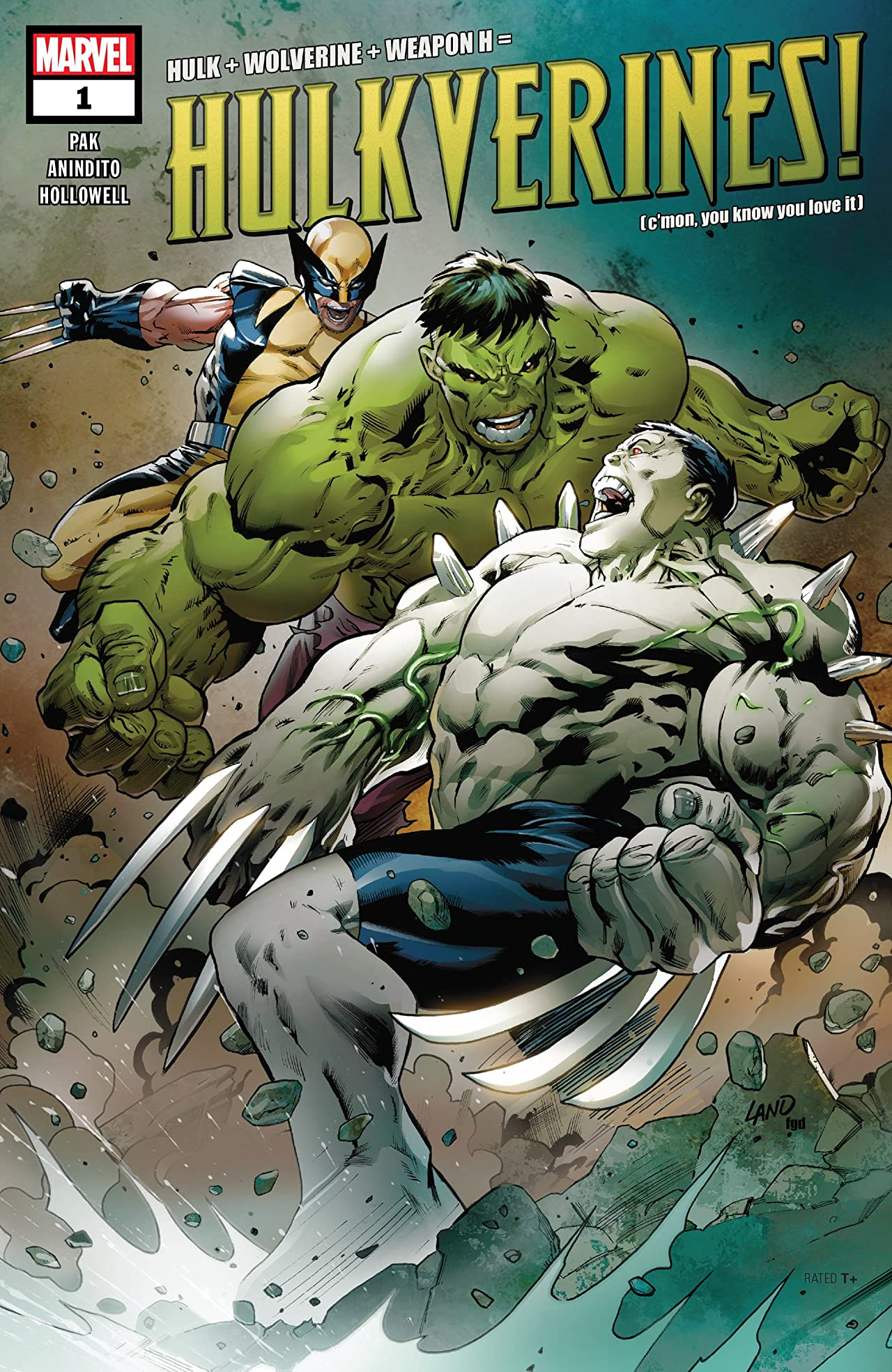 Hulkverines (2019) No.1 (sur 3)