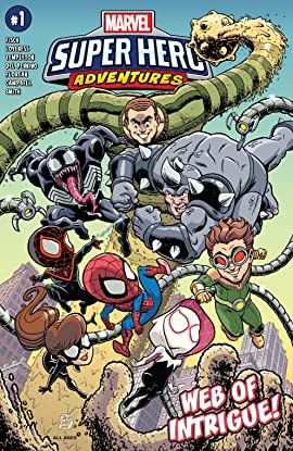 Marvel Super Hero Adventures: Spider-Man – Web Of Intrigue (2019) #1