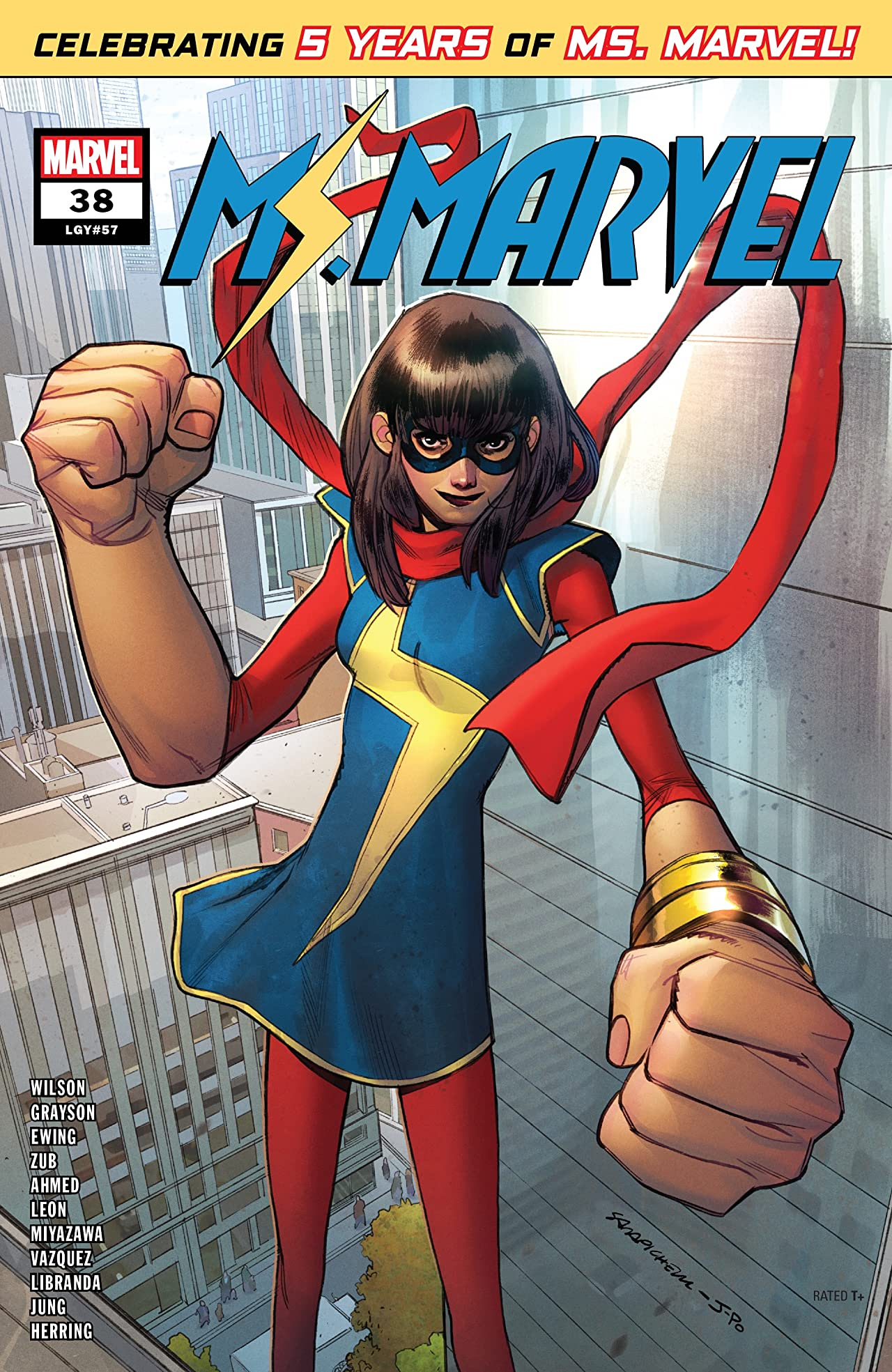 Ms. Marvel (2015-) No.38