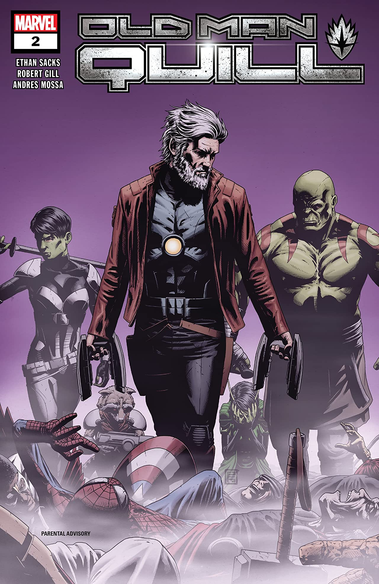 Old Man Quill (2019-) No.2 (sur 12)