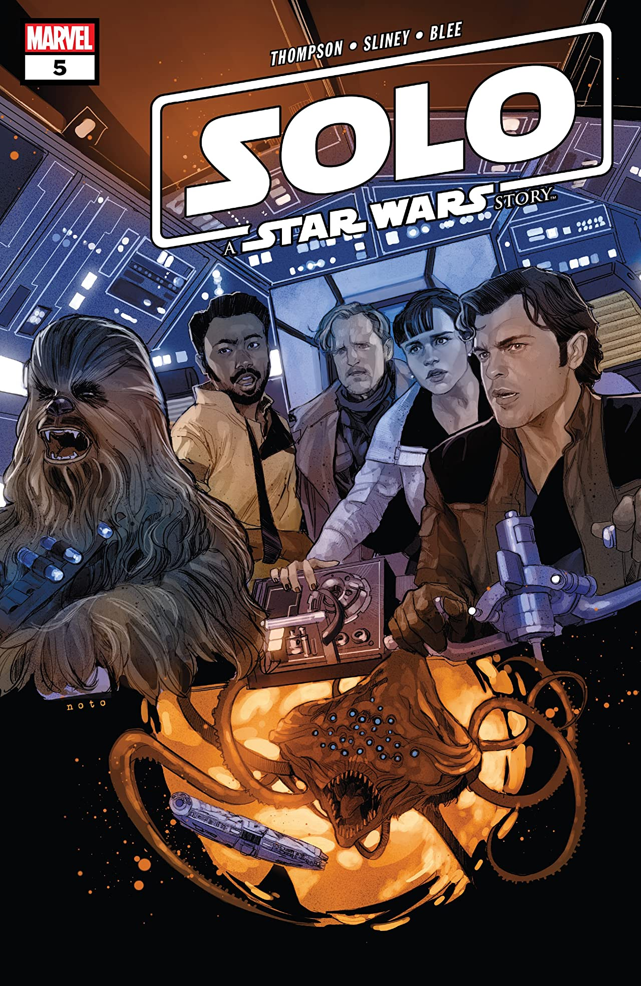 Solo: A Star Wars Story Adaptation (2018-2019) No.5 (sur 7)