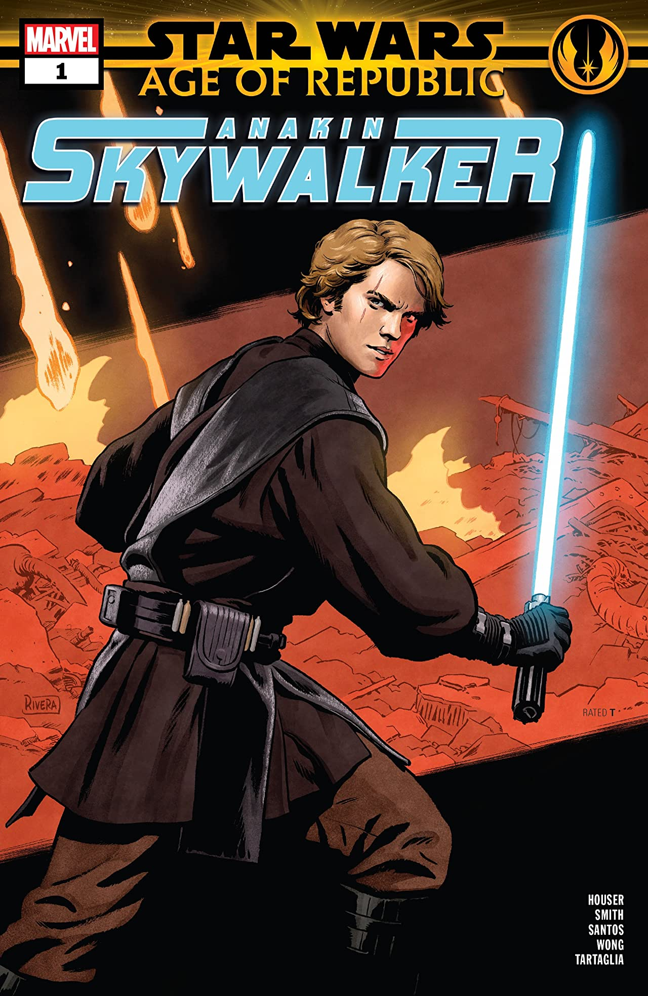 Star Wars: Age Of The Republic - Anakin Skywalker (2019) No.1