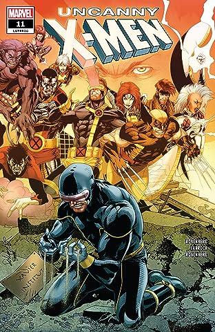 Uncanny X-Men (2018-2019) No.11