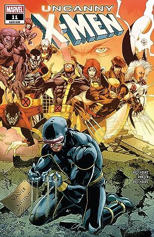 Uncanny X-Men (2018-2019) #11