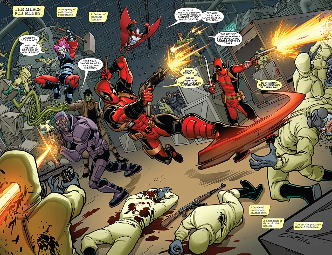 Deadpool Classic Vol. 23: Mercs For Money