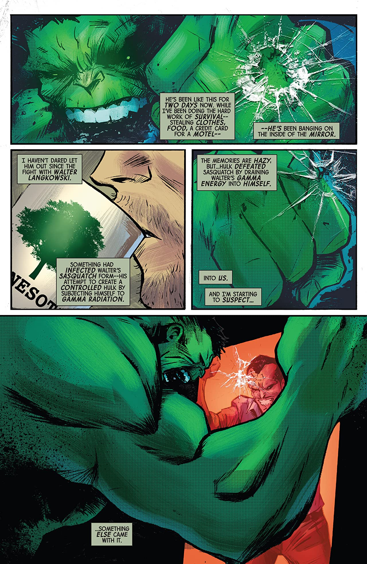 Immortal Hulk Tome 2: The Green Door