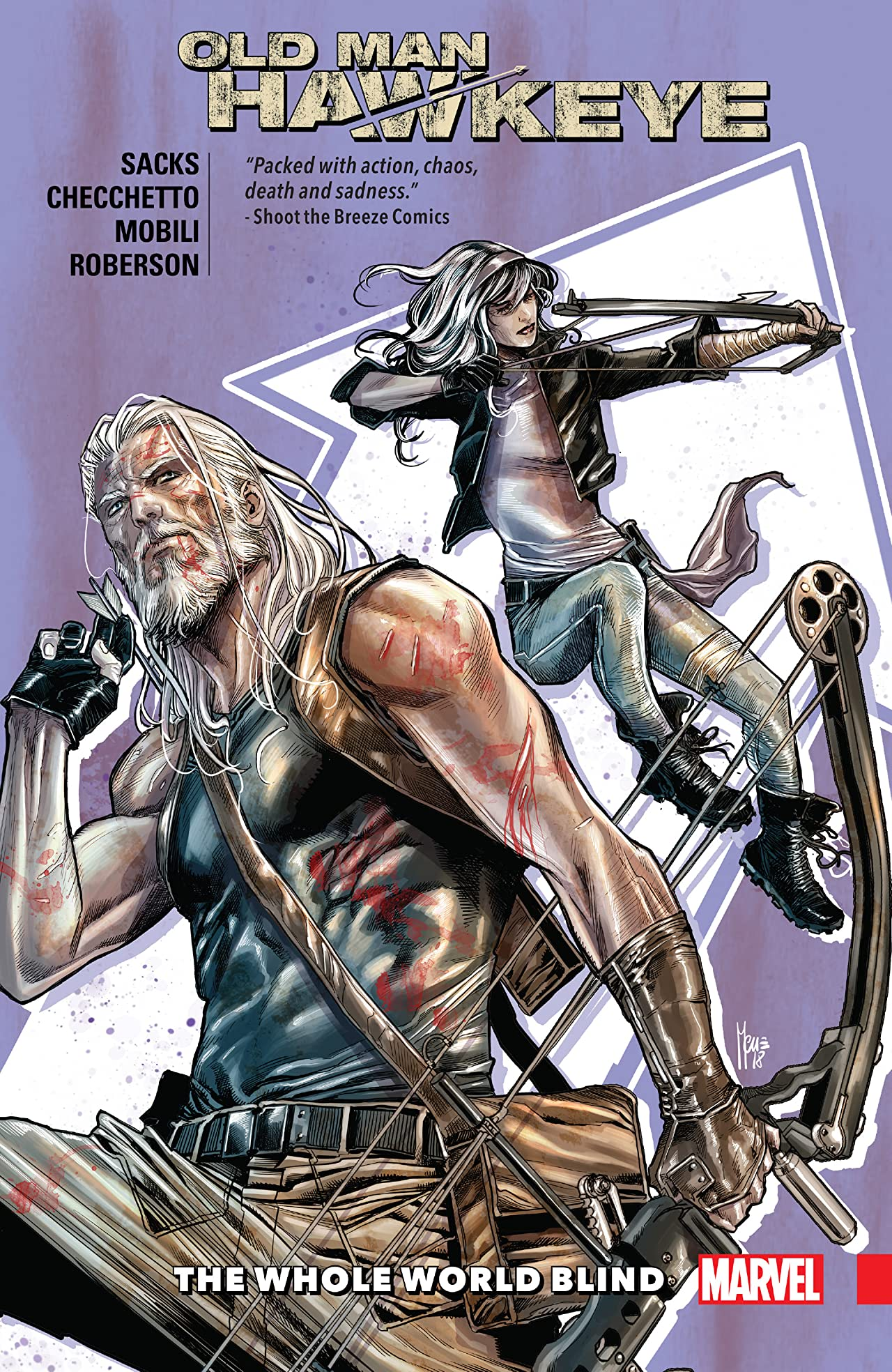 Old Man Hawkeye Tome 2: The Whole World Blind