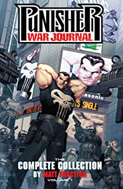 Punisher War Journal by Matt Fraction: The Complete Collection Tome 1