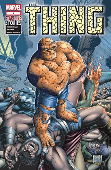 Startling Stories: The Thing (2003) #1: Last Line of Defense