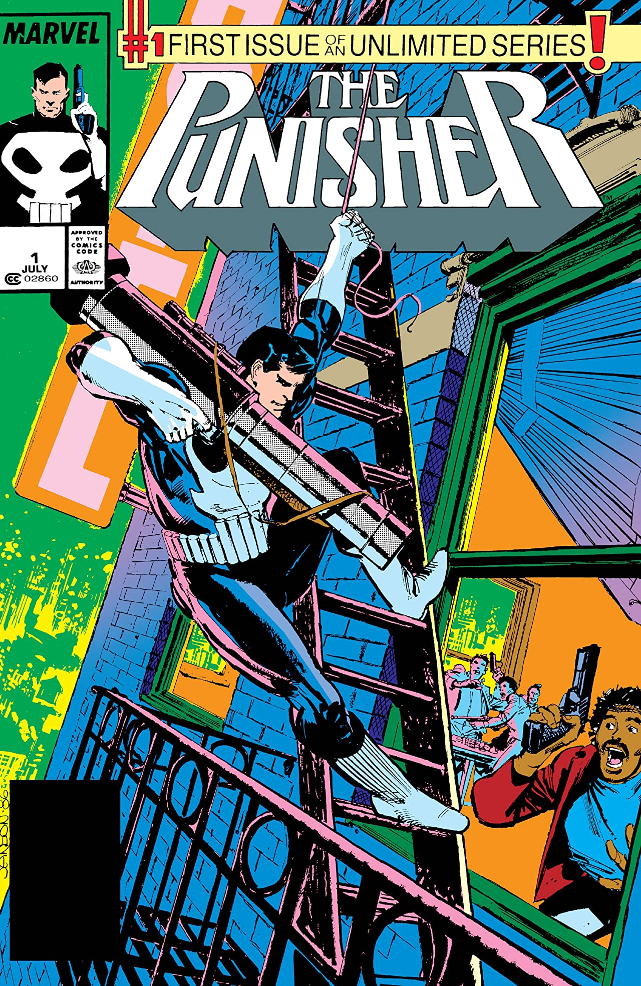 The Punisher (1987-1995) #1