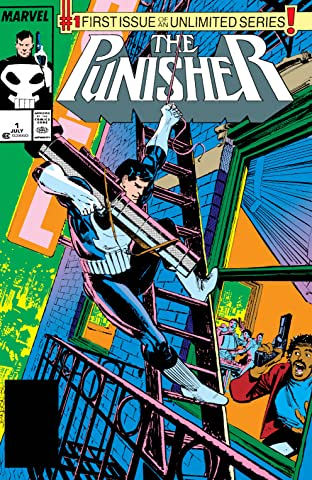 The Punisher (1987-1995) No.1