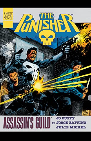Marvel Graphic Novel #40: The Punisher: Assassin's Guild
