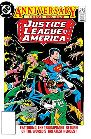 Justice League of America (1960-1987) #250