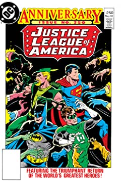 Justice League of America (1960-1987) #250