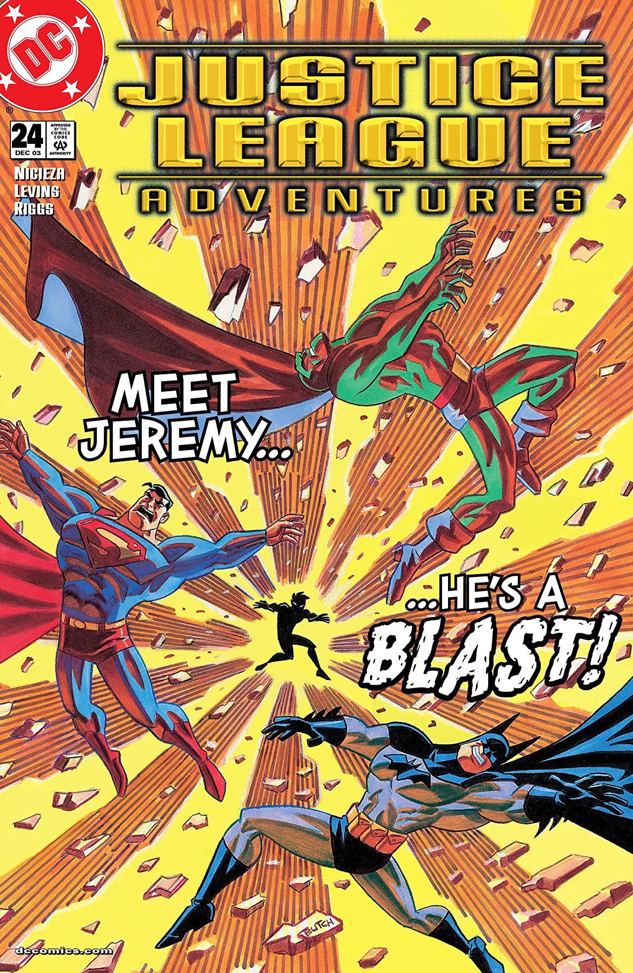 Justice League Adventures (2001-2004) #24