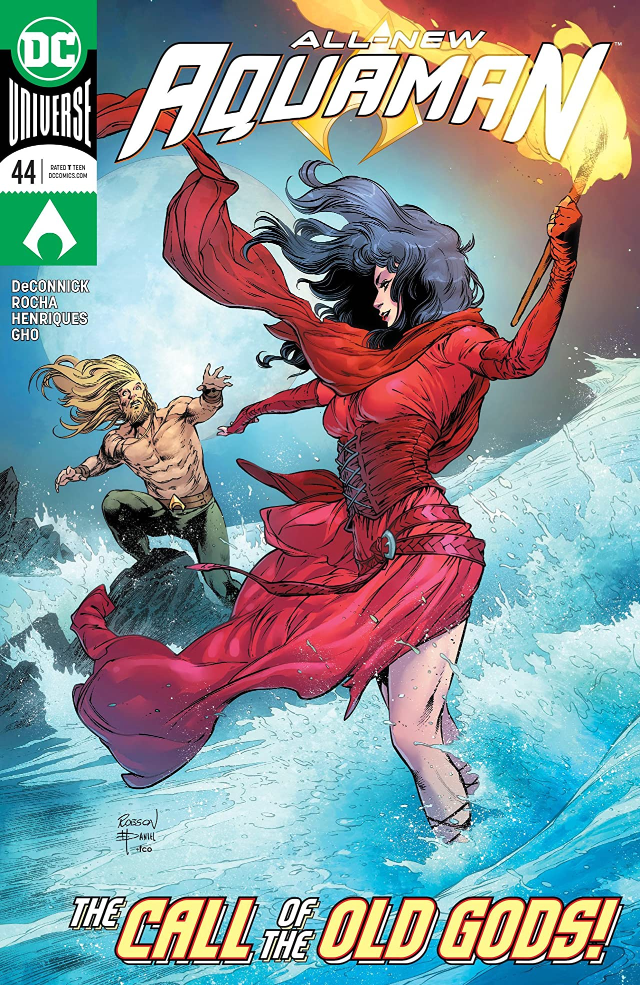 Aquaman (2016-) No.44