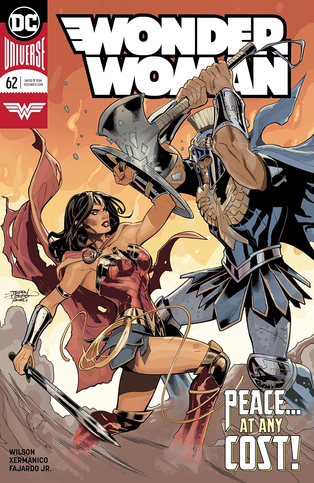 Wonder Woman (2016-) No.62